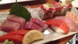 Yummy sushi.